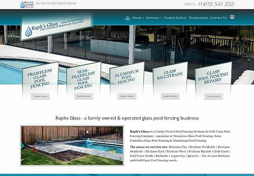 raphs glass pool fencing